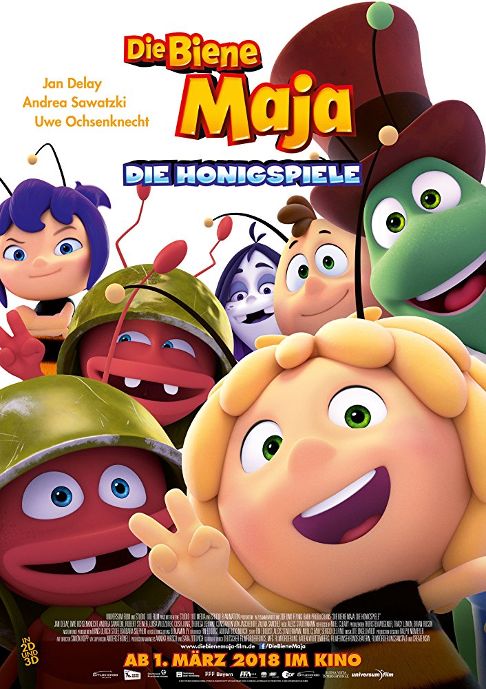 دانلود انیمیشن Maya the Bee: The Honey Games 2018