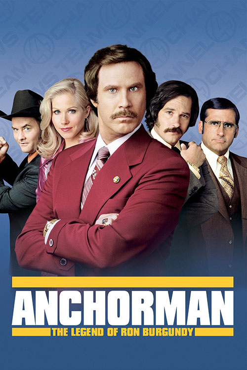 دانلود فیلم Anchorman: The Legend of Ron Burgundy 2004