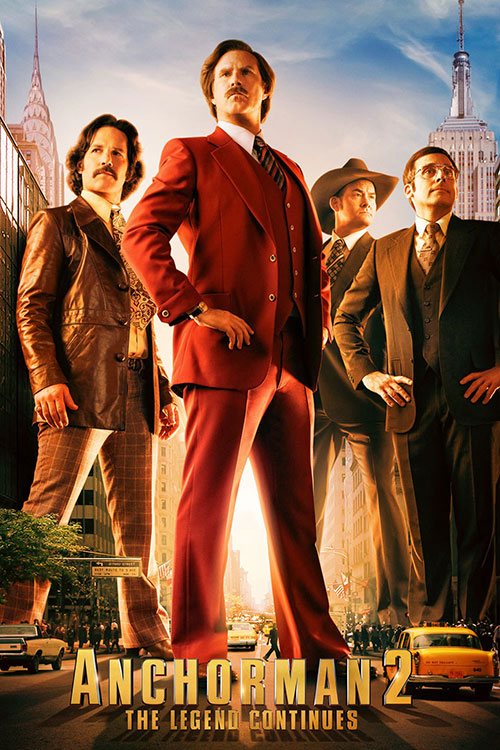 دانلود فیلم Anchorman 2: The Legend Continues 2013