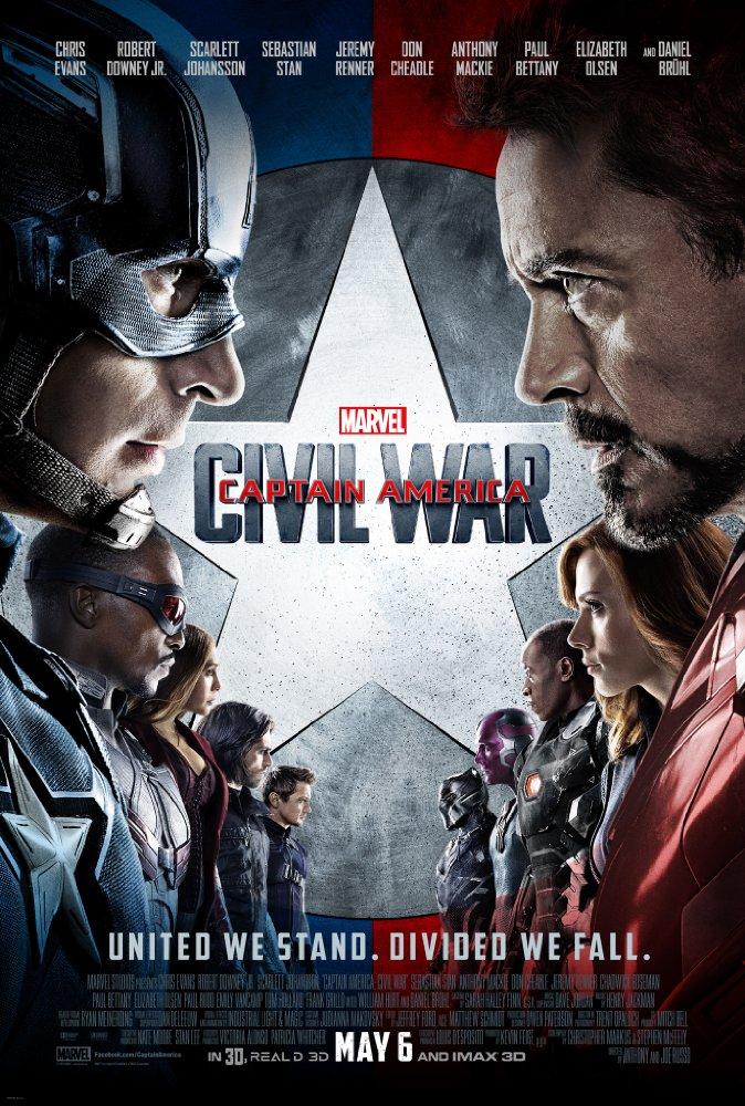 دانلود فیلم Captain America: Civil War 2016
