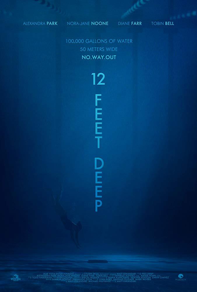 دانلود فیلم ۱۲ Feet Deep 2017