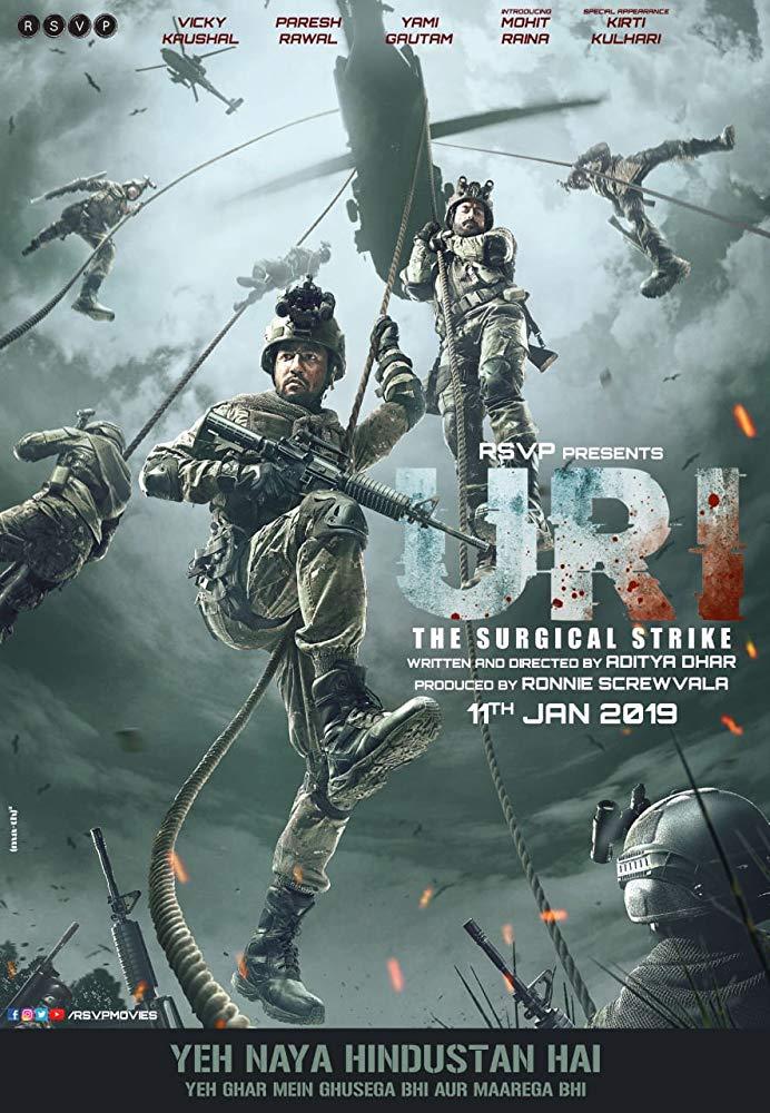 دانلود فیلم Uri The Surgical Strike 2019