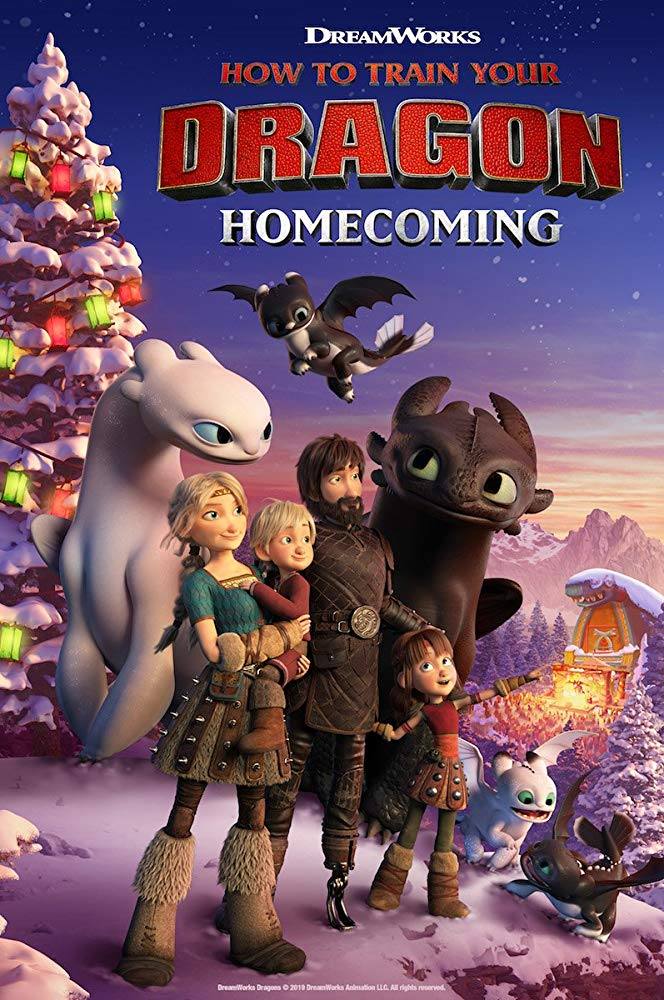 دانلود فیلم How To Train Your Dragon Homecoming 2019